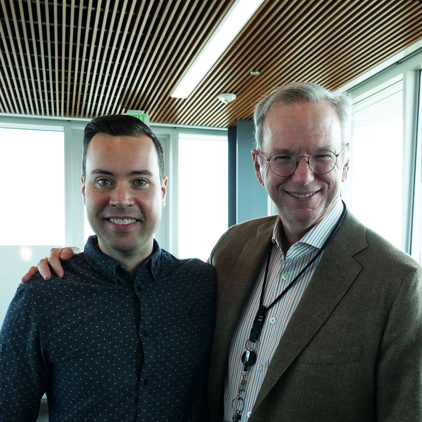 Jordan Harbinger and Eric Schmidt