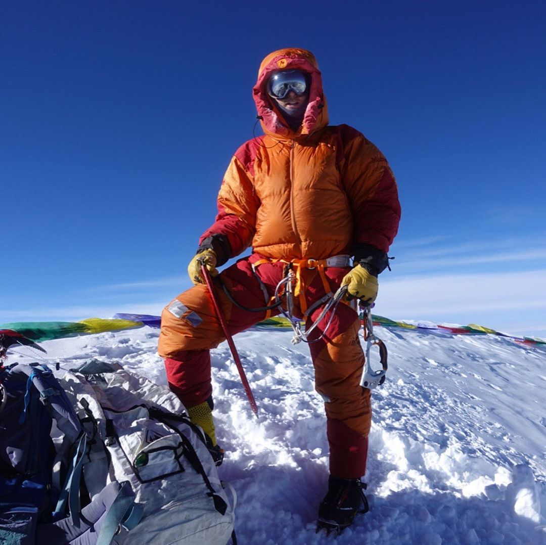 David Atop Everest, July 2019