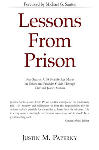 Lessons from Prison by Justin M. Paperny