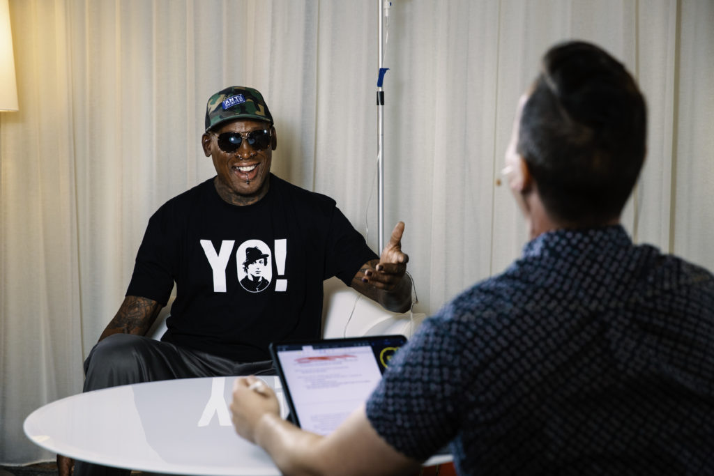 Dennis Rodman on The Jordan Harbinger Show