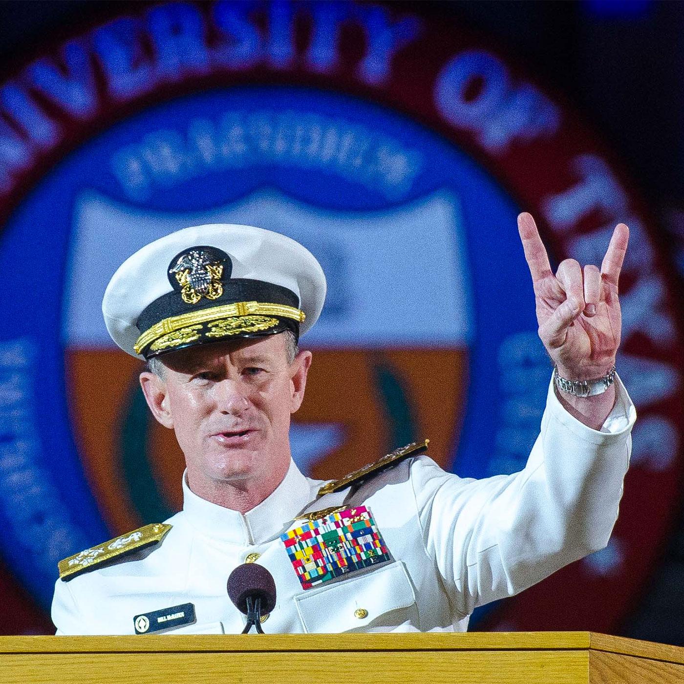 315: Admiral William H. McRaven   That's So McRaven