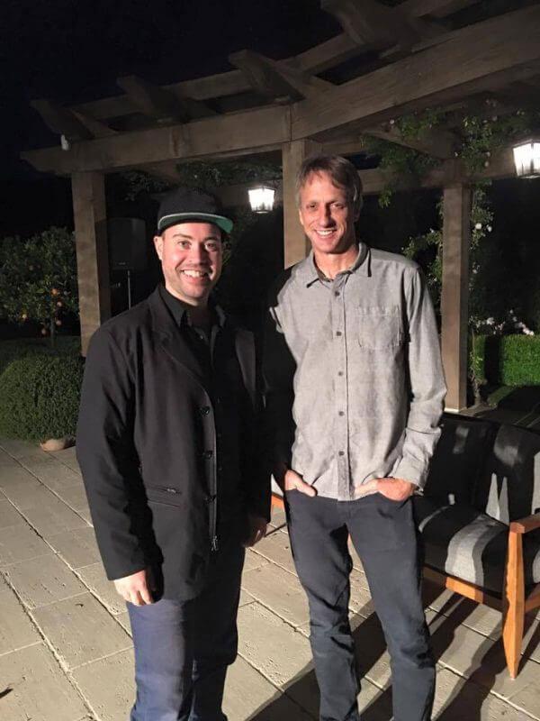 Jordan Harbinger Meets Tony Hawk!